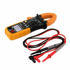 Digital Clamp Meter DC AC Volt AC Amp Ohm Tester MS2008A 2000 Counts LCD UL