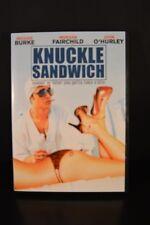 KNUCKLE SANDWICH Rare DVD Brooke Burke Morgan Fairchild John O'Hurley 2007  EXC!