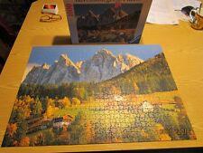 Puzzle 1000 Teile, Villnößtal, Bauernhöfe bei St. Peter