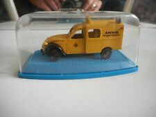 Artec Citroen 2CV ANWB in yellow on 1:66 in Box