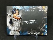 Tyler Wade 2018 Topps Inception Silver Signings Rookie Autograph 24/99
