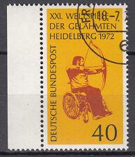 BRD 1972 Mi. Nr. 733 Gestempelt mit Rand LUXUS!!! (21559)