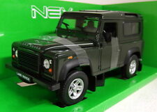 Nex Modelos 1/24 escala 22498 Land Rover Defender 90 Coche Modelo Diecast Verde Oscuro