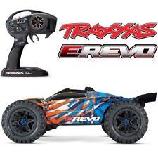 NEW Traxxas E-Revo 2.0 VXL Brushless RTR RC 4WD Monster Truck ORANGE w/TSM