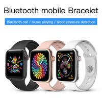 Bluetooth 5.0 Smart Watch Full Touch Screen Sport IOS Xiaomi Android Men Women