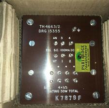 2X  PARTRIDGE TH4663/2 SE OUTPUT TRANSFORMERS NOS 300B PX25 Jean Hiraga vintage