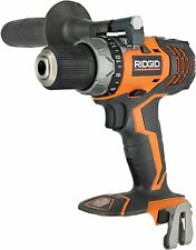 RIDGID R86008 18V 2-SPEED DRILL WITH SIDE HANDLE  & BELT CLIP - TOOL ONLY
