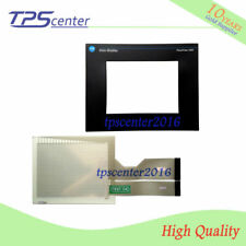 Touch screen panel for AB 2711-T10G15 2711-T10G15L1 PanelView 1000 with overlay