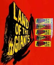 More details for 1969 a&bc land of the giants 3d picture card bubble gum wax wrapper - fcc