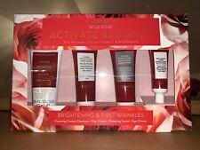 Korres Wild Rose Activate Radiance Gift Set Including Sleeping Facial