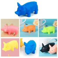 Pet Puppy Chew Squeaker Squeaky Rubber For Dog Toys Play Sound Pig Supplies Top
