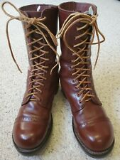 Repro US WWII Corcoran Paratrooper Boots, 8EE, Near Mint