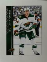 2015-16 Upper Deck #345 Justin Fontaine - NM-MT