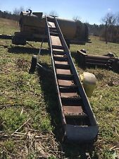 incline Pecan, Corn  Chain conveyor, cleated conveyor
