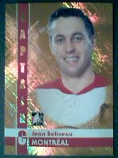 JEAN BELIVEAU  11/12 CAPTAIN-C GOLD INSERT CARD /50  SP