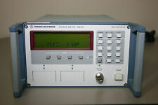 Rohde Schwarz NRVD Power Meter, Rear Inputs, Calibrated with 30 day Warranty
