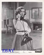 Lauren Bacall on phone VINTAGE Photo How To Marry A Millionaire