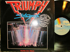 Triumph - Stages  (2 LP live set + 2 new studio cuts)