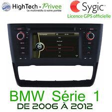 "Autoradio Multimedia 6.2"" Tactile Dvd GPS Europe iPod USB SD BMW Série 1 E87 E88"