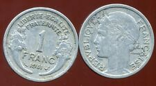 FRANCE  FRANCIA   1 FRANC MORLON ALU 1941 ( poid leger 1,3 gr )  ( bis )