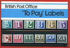 1977 1/2p - £1.00  Postage Due Pack No. 93