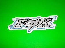 FOX RACING MOTOCROSS SKATEBOARD WAKEBOARD SNOWBOARD BLUE DRIFTER STICKER DECAL