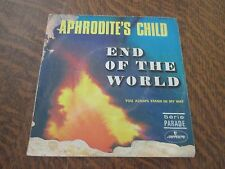 45 tours APHRODITE'S CHILD end of the world