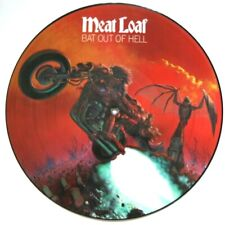 EX/EX Meat Loaf Bat Out Of Hell Vinyl Picture Disc LP Meatloaf