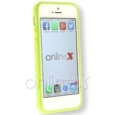 Funda Iphone Case 5 Tamizada Color Verde a1109