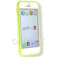 Funda Carcasa Cover Iphone 5S Tamizada Verde a1109