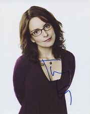 TINA FEY In-person Signed Photo - Saturday Night Live