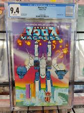 ROBOTECH THE MACROSS SAGA #1 (1984) - CGC GRADE 9.4 - ENGLISH ADAPTATION!