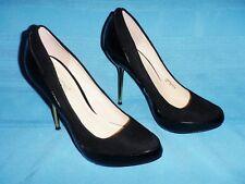 """Shoedazzle Gwyndolyn Platform Pump Spike Stiletto Heels 5""""  Shoes Black - Woms 9"""