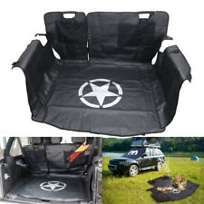 Pet Bench Seat Cover Dog Hammock Storage Cargo Liner For Jeep Wrangler JK 4-door