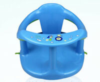 Baby Bath Seat Support Safety Infant Chair Bathing Newborn Tub Ring Blue