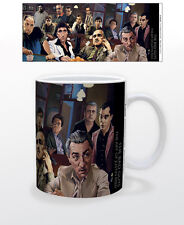 THE BAD GUYS THE ART OF JUST 11 OZ CUP AMERICAN ITALITAN MOBSTER GODFATHER CRIME