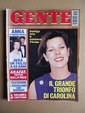 GENTE n°40 1993 Carolina di Monaco Rossana Podestà Deborah Kerr [D52]