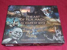 Art of Film Magic Weta 2 SIGNED by Richard Taylor & Tania Rodger Avengers Hobbit
