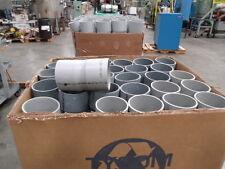 """PVC Pipe / Conduit Coupling  6""""  155mm  Rigid PVC  (Lot of ~90 pieces)"""