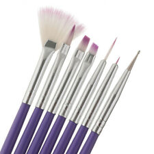 7PCS Nail Art Brush Drawing Design Polish Gel UV Tips Decoration Manicure Tools