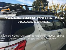 Fully Enclosed Deluxe Steel Roof Rack  2200x1250 for Isuzu MU-X MUX LS-T 2013 On