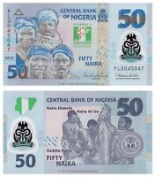 Nigeria 50 Naira 2010 Polymer Commemorative Issue P-37 Banknotes UNC