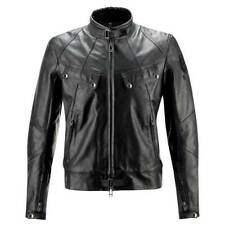 Belstaff Harewood Blouson Black Leather Motorcycle Motorbike Jacket RRP £695