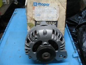 NOS Mopar Plymouth Dodge Chrysler single pulley reman alternator R0291206