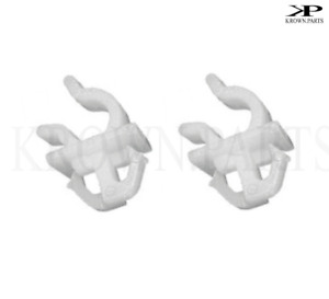 2x Bonnet Rod Retaining Clip Support Clamp fits Some Toyota Rav 4 Corolla hiace
