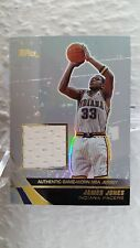 2003-04 Topps Jersey Edition #jj james jones RC (pacers)