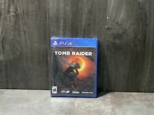 Shadow of The Tomb Raider (Ps4) *Brand New - Factory Sealed*