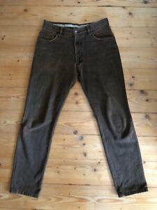 Burberry London Jeans Hose Vintage Braun W30 S Vintage