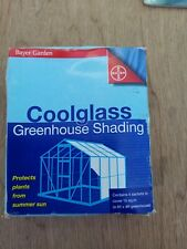 COOLGLASS GREENHOUSE SHADING. Contains 4 Sashets Each Sashet Covers 40sq.ft