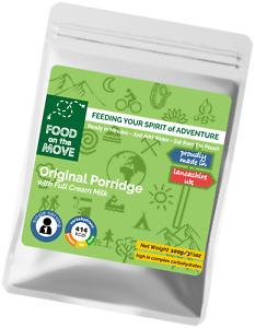 Lightweight Dehydrated Pouched Breakfast - Original Flavour Porridge - 100g